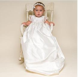 2019 vestido de comunión escote ilusión 2019 más nueva princesa una línea de cuello alto satén blanco encaje fiesta de cumpleaños niña primera comunión vestidos