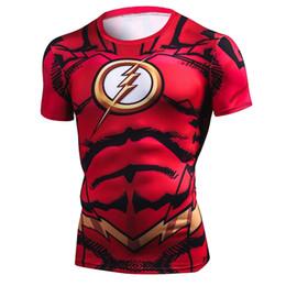 camisa de compresión de hombre de hierro Rebajas Nuevo verano 3D Iron Spiderman camiseta hombres Marvel Avengers camiseta de los hombres Compression Crossfit camiseta de manga corta camiseta de equitación TopsTees