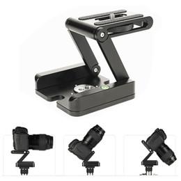 Suporte da câmera dobrável on-line-Dobrar Z Tipo Suporte Titular Profissional Tripé Kit Flex Tilt Cabeça Pan Bola Cabeça Dobrável Desktop Câmera Compatível Filmadora