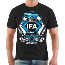Canada T-shirt Wer IFA DDR Osten Ostdeutschland Ossi S - 3XL Spruch T-shirt À Manches Courtes Tops Livraison Gratuite Summer Fashion Offre