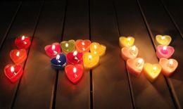 2019 decorazioni di proposta Creativo Exquisite PVC a forma di cuore Jelly Aromatherapy Candele Romantico San Valentino Proposta Decorazione di cerimonia nuziale Paraffina Candela di cera decorazioni di proposta economici