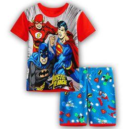 Vêtements de climatisation en Ligne-2018 nouvelle mode vêtements pour enfants coton costume d'été climatisation costume pyjama de dessin animé