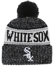 1fab8bcea93e5 Chinese Discount White Sox Beanie Sideline Cold Weather Graphite Official  Revers Sport Knit Hat All Teams