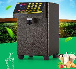 Wholesale Grid 16 - Fructose machine 16 grid Fructose Quantitative machine Automatic Fructose Dispenser Syrup dispenser for coffee&Bubble tea shop LLFA