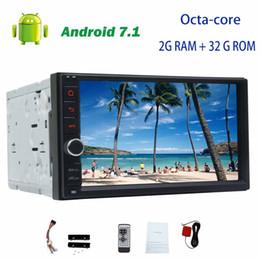 italian dvd Canada - Android 7.1 Octa-core Headunit no dvd player 7'' Touchscreen Double din GPS Navigation Car radio Stereo Autoradio Wifi FM AM RDS