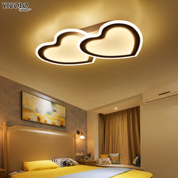 Wholesale Kids 12v - kids room ceiling lights LED modern Rudder design acrylic Simplicity protect eyesight Children room ceiling lamp lampara techo