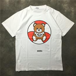 3a439cd1ba novas tendências camisa mens Desconto 2018 verão nova chegada marca De Luxo  mens Little Urso Transformador