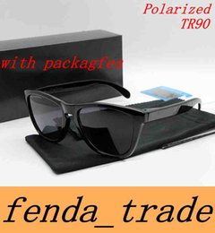 Wholesale Mirror Packaging - with packages Polarized Sunglasses Hot sale Frog style kins mirror TR90 Frame cycling sunglasses sports 10 colors HOT freeshipping MOQ=10pcs