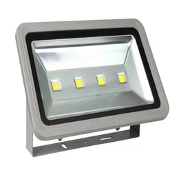 Wholesale red street light - Outdoor Led Floodlight 200W LED Flood Light Waterproof Wash Flood 85-265V Street Lamp Luminaire Tunnel Lights RGB Warm Cool White Light