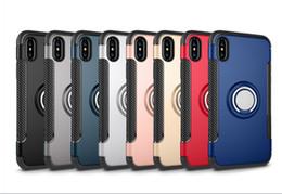 Car Aimant Finger Ring Case PC Dur Titulaire Couverture Kickstand Couverture Coquille De Protection Sac Stealth Full Stents Pour Apple iPhone Xs Max Xr Xs ? partir de fabricateur