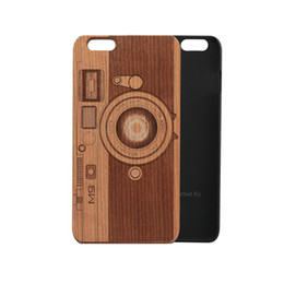 Wholesale Vintage Camera Cases - Camera photo design case for iPhone 6s 6 s 6 6plus 6splus 5 5s se,vintage animal print and carved mobile cellphone cases
