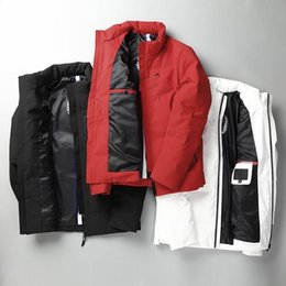 Wholesale Mens Winter Snow Coats - Winter new mens luxury 90% duck down filled warm down jacket coat ~ anti wind and snow prevention down jacket man tops feather dress