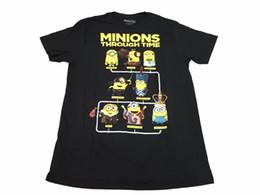 Миньоны фильмы онлайн-Презренный Me Minions на протяжении всего времени Funny Movie Мужская футболка M-2XL