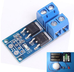 Wholesale pwm module - Free shipping! 1pc lot High Power MOS FET Trigger Switch Drive Module PWM Regulator Electronic Switch Control Panel DC 5V-36V