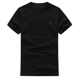 Wholesale Most Popular T Shirts - 2018 Fashion t-shirt populour Clothing Men six colors Tee Men's Design Most Popular Printing Arrival New Embroding
