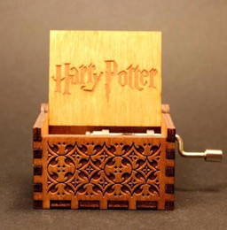 harri potter hand engraved wooden music box theme song gift for christmas birthday gift new year gift children