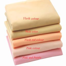 2017 vendedor caliente de las muñecas de tela 5 del diseño del color en la acción para el bricolaje remiendo de la muñeca del brazo de la piel de la cara coser de las telas 50cmx148cm desde fabricantes