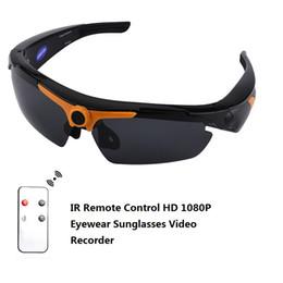 2019 бесплатный vr-картон 1080P Smart HD угол солнцезащитные очки 170 широкий глаз носить мини видеорегистратор Mini DV DVR поляризованных солнцезащитные очки с пультом дистанционного управления