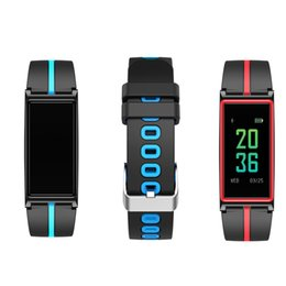 Wholesale Pressure Touch - B5 Heart Rate Monitor Bluetooth SmartWatch Band Touch Screen Wristband Bracelet Fitness Tracker Pedometor For Andorid IOS Wristband