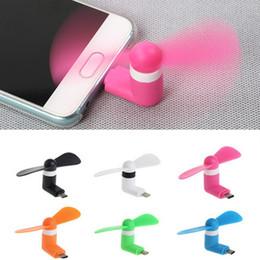 Portable Mini Ventilateur De Téléphone Portable Cool Micro USB Ventilateur De Téléphone Mobile Fit Pour Samsung Android iPhone 5 5s 5c 6 Plus 6s Plus X ? partir de fabricateur