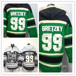 Wholesale Outlet Patch - Factory Outlet, Los Angeles Kings 99 Wayne Gretzky Black C Patch Old Time Hockey LA Hoodie Hoodies Ice Hockey Clothes