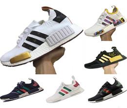 2018 aumenta R1 Runner conjuntamente LW Honeybee Running Shoes Runner aumenta R1 PK Stretch Fabric / Knit aumenta zapatillas de deporte casuales desde fabricantes