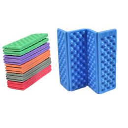Wholesale foam sleep mat - Outdoor Ultralight Camping Mat Seat Foam Picnic Mat Waterproof Picnic Egg Slot Beach Tent Moistureproof Sleeping Pad