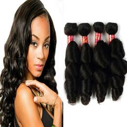 естественное скручивание 16 дюймов Скидка 8A девственные бразильские свободные волновые волосы плетения 4 пучка 100% Remy человеческих волос расширения 10-28 дюймов естественный цвет может быть свернулся цена по прейскуранту завода-изготовителя
