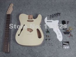 Wholesale Unfinished Electric Guitar Bodies - Factory wholesale Unfinished Electric Guitar Body&Neck, DIY Guitar Kits, BYO Electric Guitar free shipping