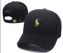 pólo designer homens Desconto 2019 Novo Estilo osso Curvo viseira Casquette boné de beisebol das mulheres gorras Urso pai polo chapéus homens hip hop designer Snapback Caps de Alta qualidade