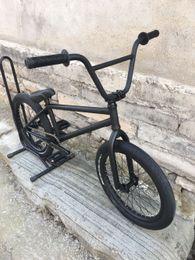 Bmx negro online-Inicio V3 diy bmx bikes 20 'full crmo full bearings black
