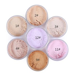 Wholesale make up loose powder - IMAGIC 7 colors Face Makeup Powder Loose Powder Palette Make Up Foundation Setting Finish Powder Concealer Natural Flawless & Pore Less