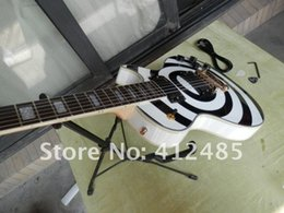 Wholesale electric guitar black white - Free shipping ZAKK LP CUSTOM Guitar Wholesale guitars in stock G-USA Zakk Wylde Les Electric guitar Black & WHITE