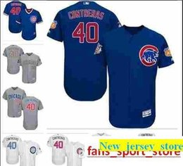 f0cf818c0eb blue cubs Coupons - 2019 custom Men s women youth Majestic Cubs Jersey  40 Willson  Contreras