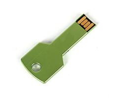 Wholesale Key Companies - NEW DHL advertising on golden key usb 64GB USB business gifts YG8 64GB u disk custom company LOGO show u disk 60pcs lot