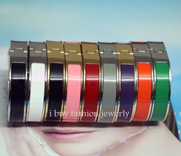 Wholesale Love Letter Plates - fashion 12mm Luxury Cuff H Bracelets Bangles for women Classic love Bracelet Letter Buckle Wristband fashion lover jewelry silver h bangle