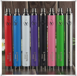 E cig ego on-line-Visão Rotação II 1600 mAh EGO EVOD Torção 2 E-cig 3.3 ~ 4.8 V Tensão Variável Vape Pen Bateria para 510 Fio de Cigarro Eletrônico
