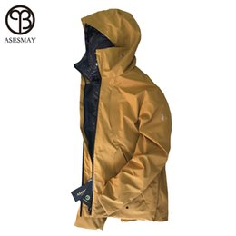 fa617d80a0a0 Asesmay new arrival men down jacket winter parkas men s white duck down  coats goose feather liner detachable thick warm jackets