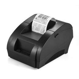 -5890K 58 мм USB Термопринтер ЕС Plug Квитанция Билл Билет Денежный Ящик Ресторан Розничная Печать от Поставщики машины для печати зебр
