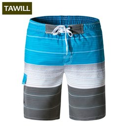 Wholesale Cargo Bottoms - TAWILL 2018 Quick dry Mens Active Beach Board Shorts Trunks Cargo Workout Boxers Sweatpants Fitness Short Bottoms 1505