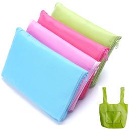 Модные продуктовые сумки онлайн-Fashion Simple Foldable Shopping Bag reusable grocery bags Durable Multifunction HandBag Travel Home Storage Bag