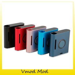 2019 gemacht box mod 100% Original VapMod Vmod VV Box Mod 900mAh Batterie Verdampfer Vape Pen Variable Voltage Mods Kit Für 510 Gewindekartusche