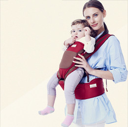 Wholesale Backpack Stool - Baby Breathable Wrap Carriers Waist Stool Shoulders Straps Infant Waist Stool Safety and Comfort Toddler Backpack Wrap Sling porte bébé