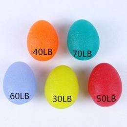 Bolas de silicone por atacado on-line-Atacado HAND Grip Balls terapia de silicone Stress Balls Squishy Bolas Resistência Exercício Squeeze Ovos em estoque