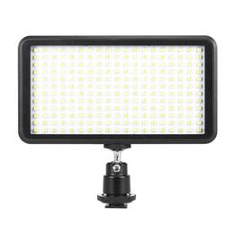 Vendita all'ingrosso Ultra-sottile 3200K / 6000K Studio fotografico Fotografia LED Light Panel Lampada 228pcs Bead per Canon Nikon DSLR Camera DV Camcorder da lampada da incasso a led fornitori