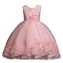 Canada 2019 filles habillées été nouveaux vêtements pour enfants robe de princesse enfants jupe petite fille gilet jupe maille jupe Vêtements Robes de soirée Offre