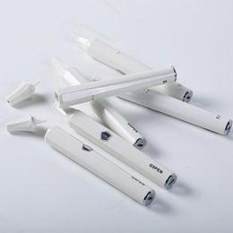 Camera di vapore online-Authentic G9 Portable Wax Pen Vaporizzatore Starter Kit Camera di ceramica ad olio Bianco Coilless Sigaretta elettrica Vapor Vape E cig