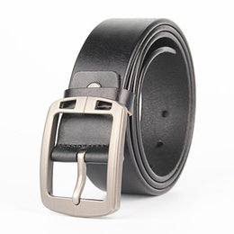 Wholesale Fancy Jeans - Fashion belt men genuine leather luxury strap male belts for men buckle fancy vintage jeans cintos masculinos ceinture homme