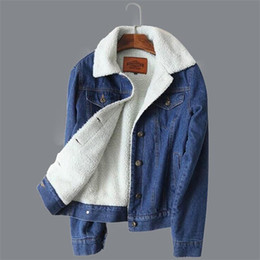 6829148f78792 Primavera otoño invierno mujer chaqueta 2018 moda mujer chaqueta de  bombardero forro de lana denim para mujeres abrigo de Jeans mujer barato jeans  mujeres ...