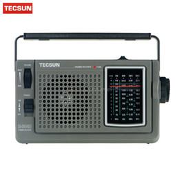 ricevitori a corto raggio Sconti Ricevitore digitale Tecsun R-304D R304D Radio FM / MW / onde corte ad alta sensibilità Ricevitore digitale Radio portatile